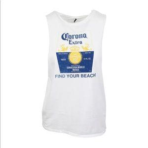 Women's Corona Extra Muscle Tank Shirt
